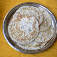 Breakfast for Busy Mornings ~ Onion Uttapam Recipe