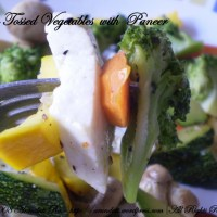 Pan Tossed Vegetables with Paneer