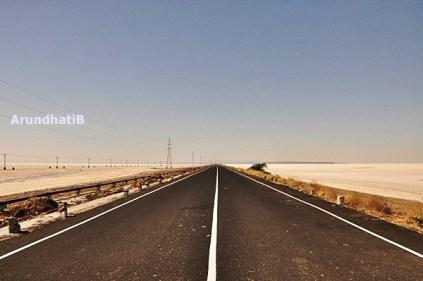 Road to Dholavira