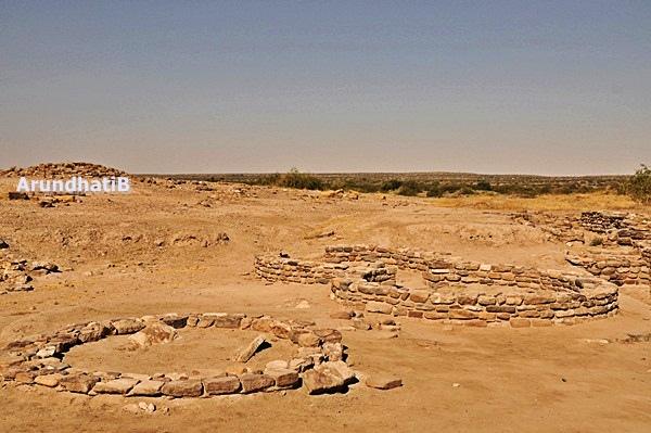 Ruins at Dholavira