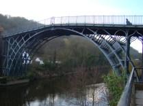 Iron Bridge on River Severn