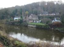 River Severn passing through town