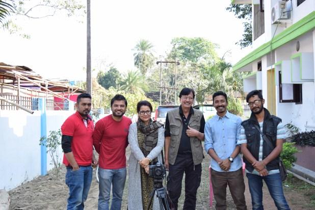 With team of the film CALENDAR
