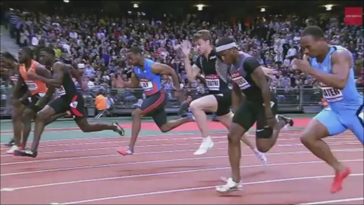 短距離走トップ選手の走りから学ぶ