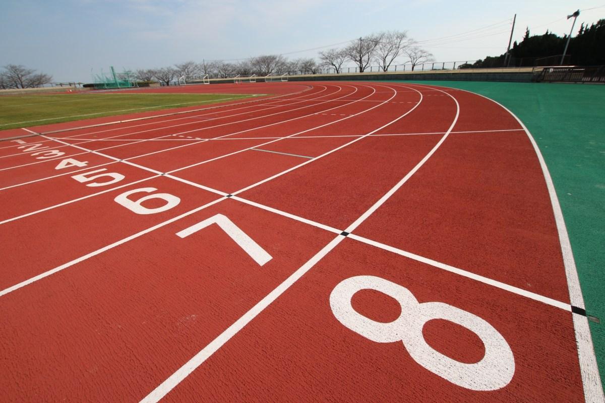 30m、50m、60m、100mのタイム相関早見表