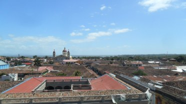 """""""...the tiled roofs toward the shimmering Lake Nicaragua."""""""