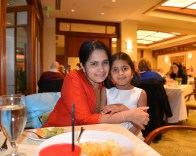 pictures of M & Meera at the Seaport Hotel Boston Thanksgiving Brunch by Arun Shanbhag