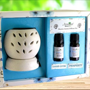Electric Aroma Diffuser Set Fragrance Gifts Hamper Combo Pack