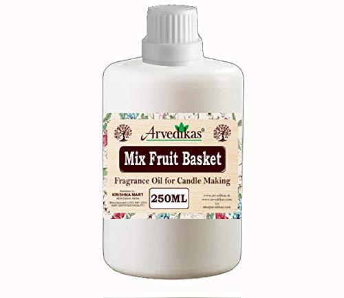 Mix Fruit Basket Fragrance Oil For making Candles Aroma Bottle-250 Ml