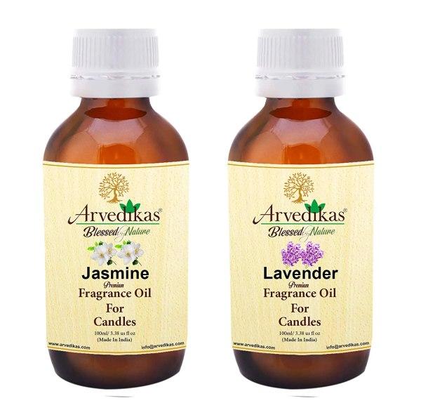 Jasmine & Lavender Fragrance Oil For Candle