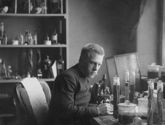 Fridtjof Nansen at Bergen Museum. Photo: UiB