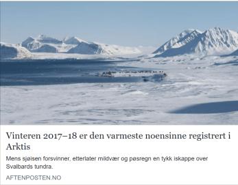 Nyhet Aftenposten