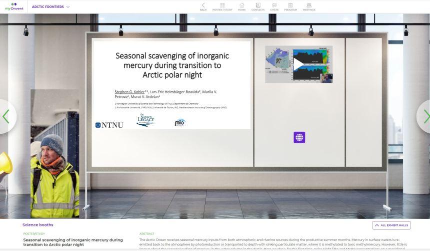 Stephen Kohlers digital booth at AF 2021