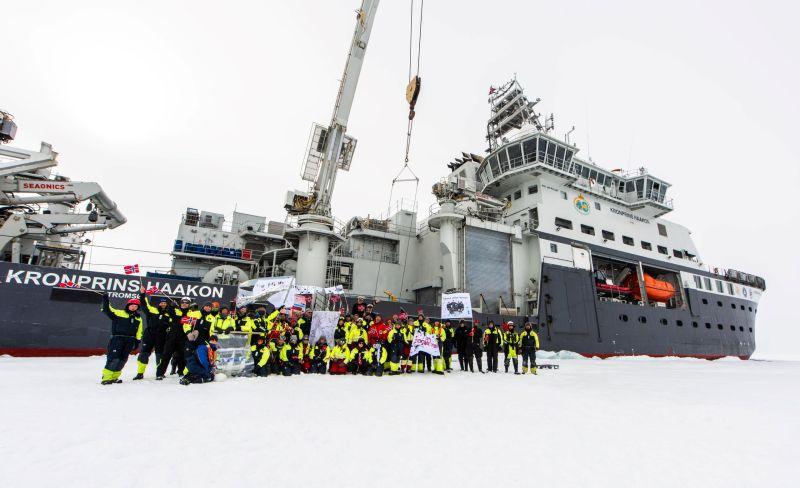 17 mai in the Arctic