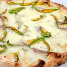ArVolo Pizza bianca Fiori di Zucca ed Alici
