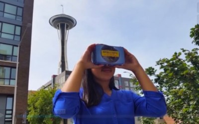 The New Space Needle 360 VR App