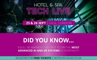 An Exclusive Show Preview of the Hotel & Spa Tech Live
