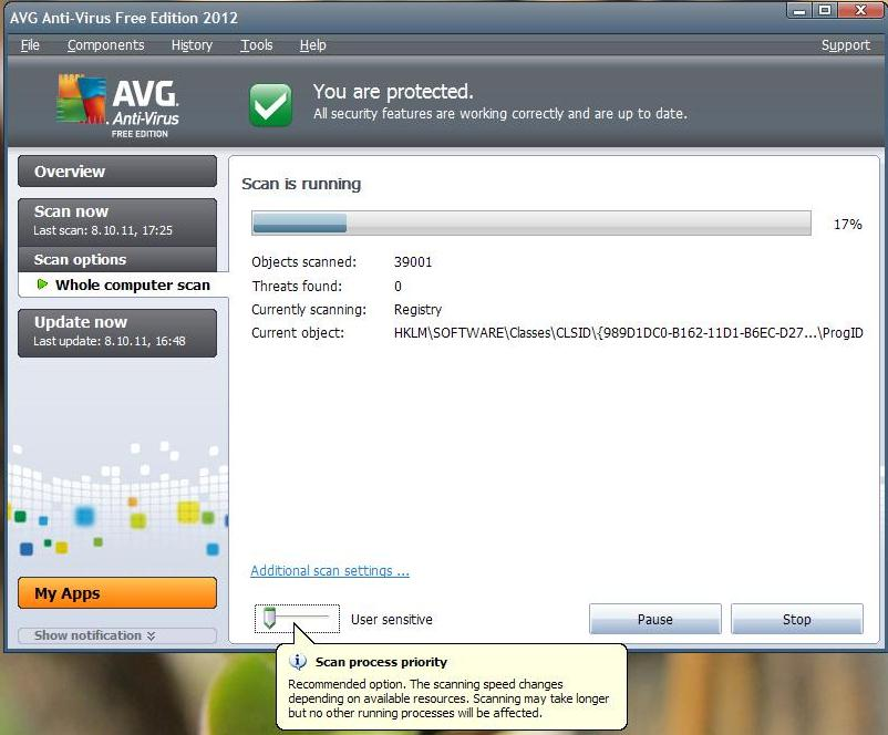 Avg anti virus 10 x32 bit 2016.1152