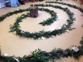 Potomac Crescent Waldorf School Advent Spiral