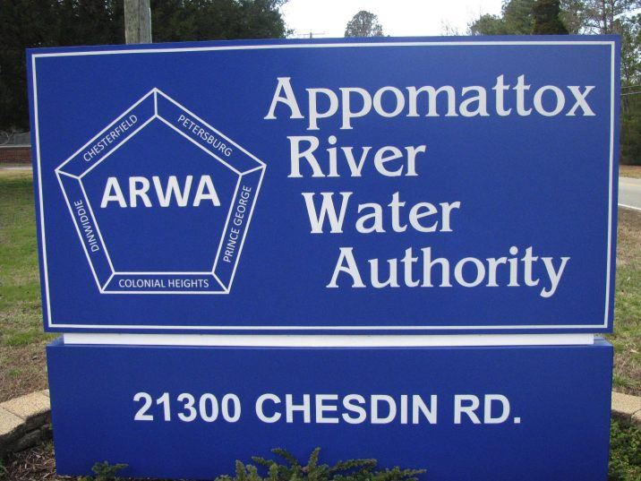 The Appomattox River Water Authority was created by the General Assembly in 1962 under the Water & Sewer Authorities Act to provide an adequate water supply to its members. Membership is made up of the City of Petersburg, the City or Colonial Heights, Chesterfield County, Dinwiddie County and Prince George County.