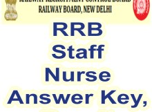 Download rrb staff nurse answer key 2019 along with result date from www.rrcb.gov.in. Answer key and Result available for all Paramedical recruitment.
