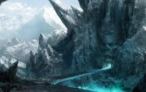 https://wallup.net/digital-art-fantasy-art-nature-mountain-winter-snow-rock-landscape-dark-ice-path/