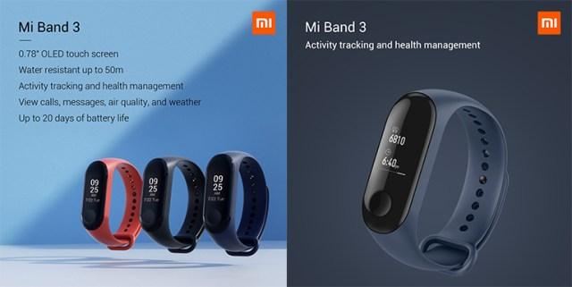Mi3 Health Band