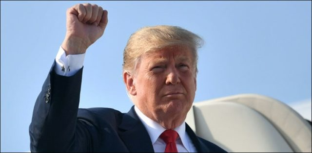 Image result for Trump warns world against business with Iran as sanctions return