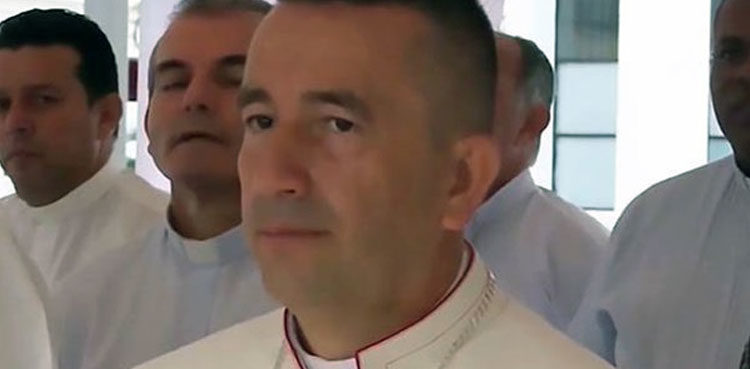 Photo of Colombian Bishop to carry out total metropolis's excorcism from a helicopter
