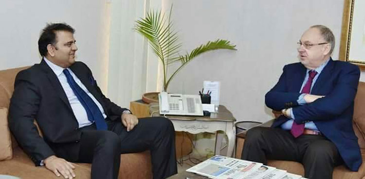 Photo of Romanian Ambassador to Pakistan calls upon Federal Minister for Science and Expertise
