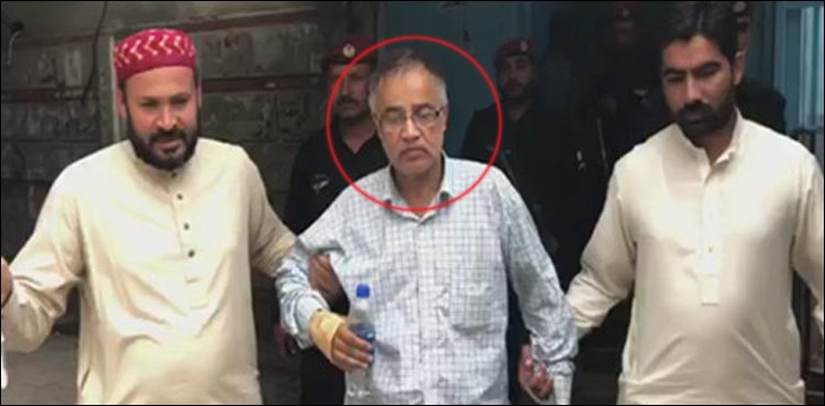 Photo of Legal report of suspect behind decide Arshad Malik's video making