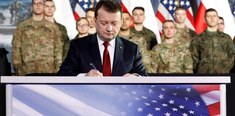 Photo of Warsaw, Washington agree on places for brand new U.S. troops in Poland