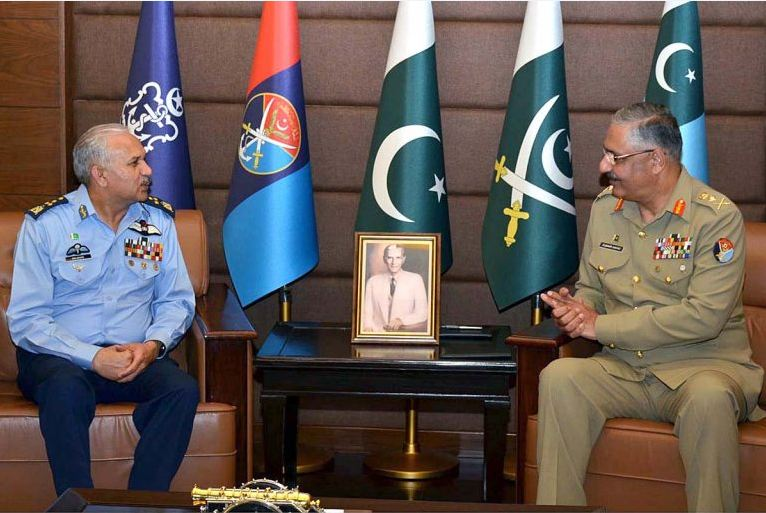 Photo of Air Chief, CJCSC pledge to defend nation's airspace from any risk