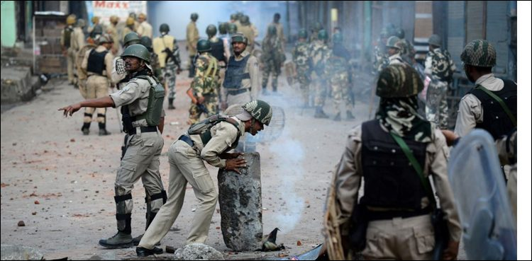 Photo of Indian troops martyr seven Kashmiris within the month of November