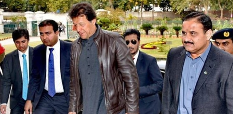 Photo of Amid reports from the PTI front block, Prime Minister Imran Khan lands in Lahore
