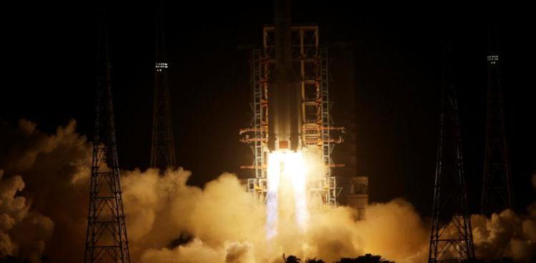 China launch of rocket probe moon