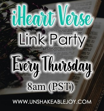 iHeart Verse Linkup Party Thursdays