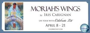 Moriah's Wings blog tour banner