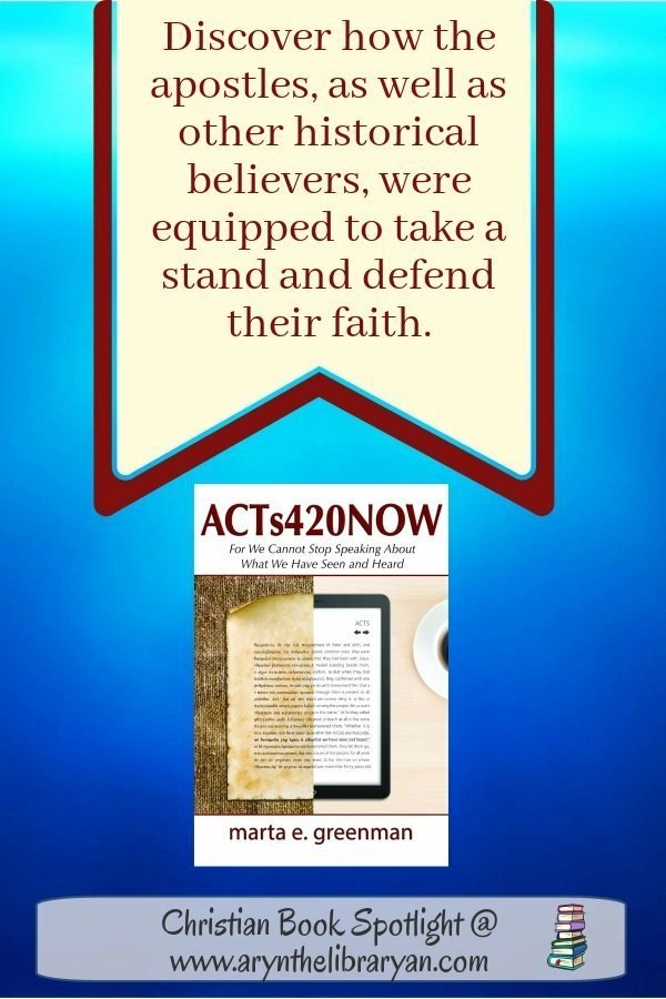 Discover how the apostles, as well as other historical believers were equipped to take a stand and defend their faith! Quote from Acts420Now Bible study