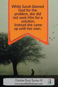 Quote from the Hagar Bible study.