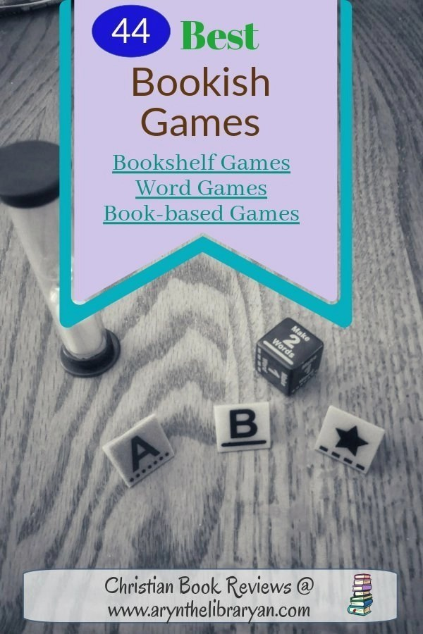 44 Best Bookish Games: bookshelf games, word games and book-based games