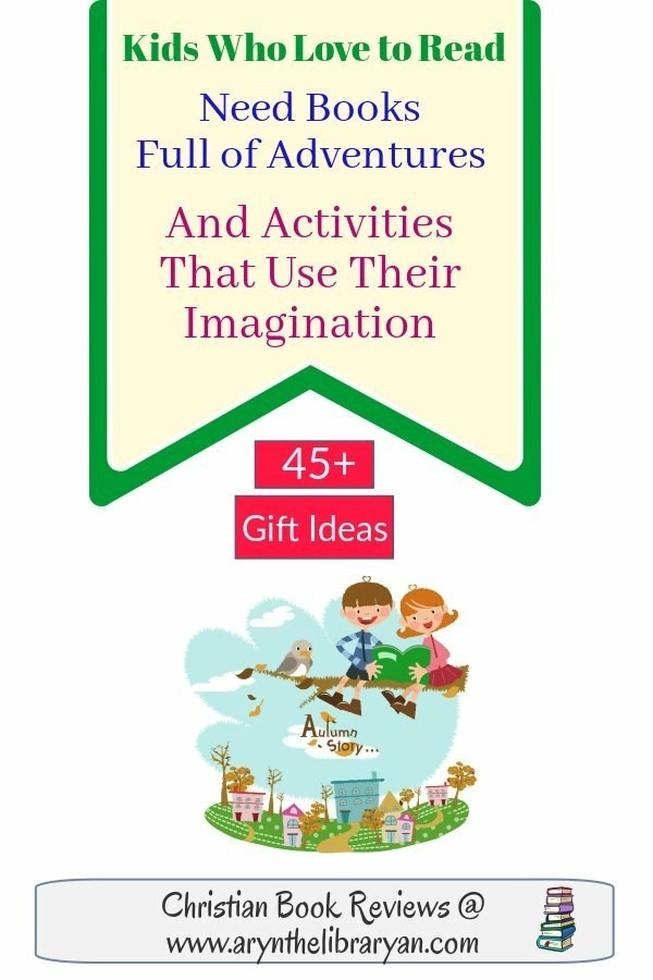 Kids who love to read need books full of adventure and activities that use their imagination (45+ Gift Ideas)