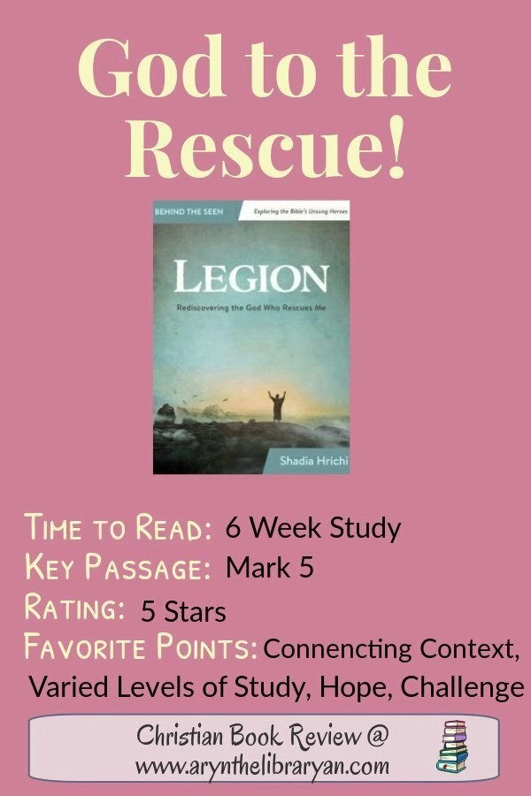 God to the Rescue: Legion is a 6 week study