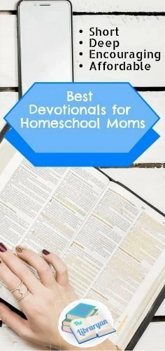Desk and Bible, Best Devotionals for homeschool moms