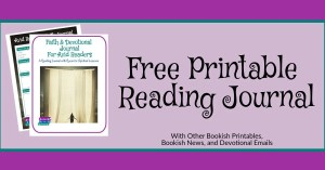 Free Reading Journal Printable