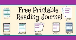 Free Printable Reading Journal
