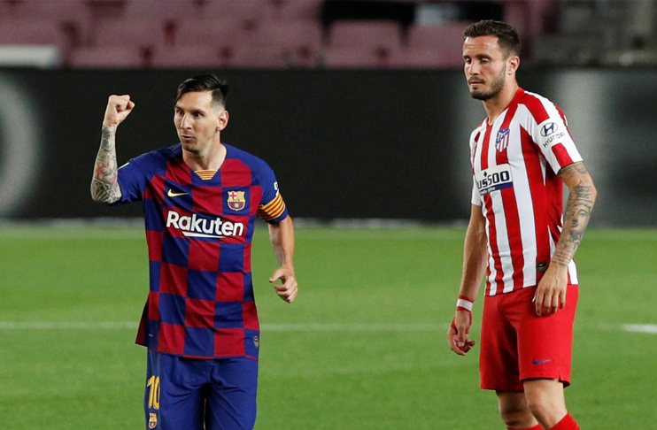 Photo of Barca title bid on rocks as Atletico upstage Messi's 700th aim