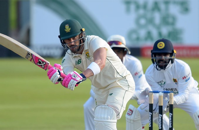 South African batsmen fight back against depleted Sri Lankans