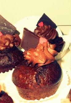 Chocolate & Rum Cupcakes