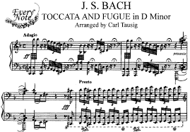 Toccata Fugue Bach